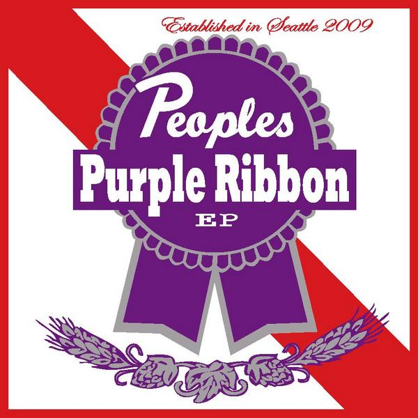 "Peoples - ""Blue Ribbon EP"" - 2009"
